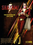 Shazam! - French Movie Poster (xs thumbnail)