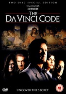 The Da Vinci Code - British Movie Cover (xs thumbnail)
