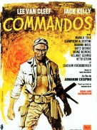 Commandos - French Movie Poster (xs thumbnail)