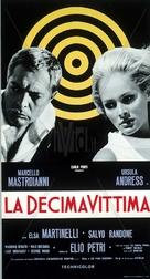 La decima vittima - Italian Movie Poster (xs thumbnail)