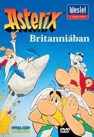 Astérix et le coup du menhir - Hungarian DVD cover (xs thumbnail)