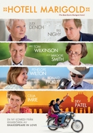 The Best Exotic Marigold Hotel - Swedish DVD movie cover (xs thumbnail)