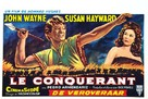 The Conqueror - Belgian Movie Poster (xs thumbnail)