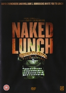 Naked Lunch - British DVD movie cover (xs thumbnail)