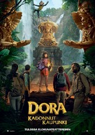Dora and the Lost City of Gold - Finnish Movie Poster (xs thumbnail)