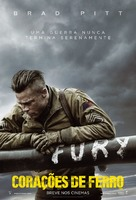 Fury - Brazilian Movie Poster (xs thumbnail)