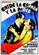 Devil and the Deep - Spanish Movie Poster (xs thumbnail)
