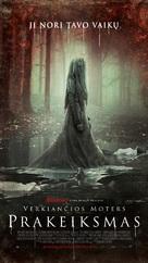The Curse of La Llorona - Lithuanian Movie Poster (xs thumbnail)