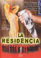La residencia - Spanish DVD cover (xs thumbnail)