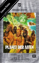 Planet of the Apes - German VHS movie cover (xs thumbnail)