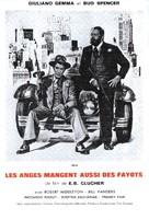 Anche Gli Angeli Mangiano Fagioli - French Movie Poster (xs thumbnail)