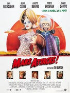 Mars Attacks! - French Movie Poster (xs thumbnail)
