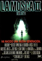 The Fly II - Spanish Movie Poster (xs thumbnail)