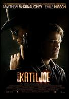 Killer Joe - Turkish Movie Poster (xs thumbnail)