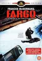 Fargo - British DVD movie cover (xs thumbnail)
