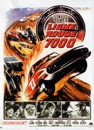 Red Line 7000 - French Movie Poster (xs thumbnail)