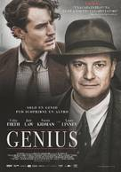 Genius - Italian Movie Poster (xs thumbnail)