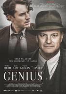 Genius - Italian Movie Poster (xs thumbnail)