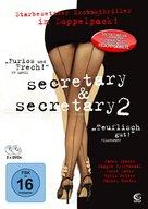 Secretary - German DVD movie cover (xs thumbnail)
