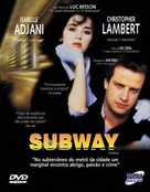 Subway - Brazilian DVD movie cover (xs thumbnail)