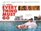 Everything Must Go - British Movie Poster (xs thumbnail)