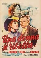 A Woman Rebels - Italian Movie Poster (xs thumbnail)