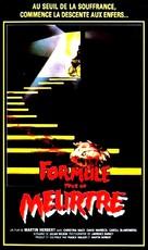 7, Hyden Park: la casa maledetta - French VHS cover (xs thumbnail)