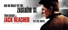 Jack Reacher - Croatian Movie Poster (xs thumbnail)
