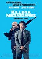 The Hitman's Bodyguard - Latvian Movie Poster (xs thumbnail)