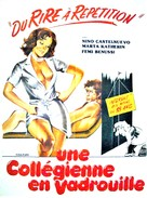La collegiale - French Movie Poster (xs thumbnail)
