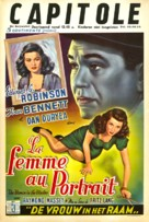 The Woman in the Window - Belgian Movie Poster (xs thumbnail)