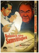 Double Indemnity - Danish Movie Poster (xs thumbnail)