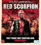 Red Scorpion - Swedish Blu-Ray cover (xs thumbnail)