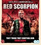 Red Scorpion - Swedish Blu-Ray movie cover (xs thumbnail)