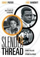 The Slender Thread - DVD movie cover (xs thumbnail)