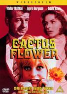 Cactus Flower - British DVD movie cover (xs thumbnail)