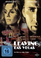 Leaving Las Vegas - German DVD movie cover (xs thumbnail)