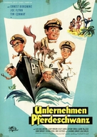 McHale's Navy - German Movie Poster (xs thumbnail)