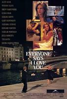Everyone Says I Love You - Canadian Movie Poster (xs thumbnail)