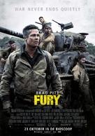 Fury - Dutch Movie Poster (xs thumbnail)