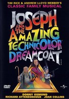 Joseph and the Amazing Technicolor Dreamcoat - DVD cover (xs thumbnail)