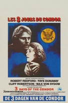 Three Days of the Condor - Belgian Movie Poster (xs thumbnail)