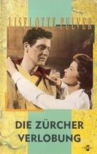 Die Zürcher Verlobung - German VHS movie cover (xs thumbnail)