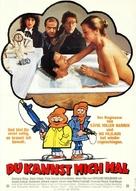 Pour 100 briques t'as plus rien... - German Movie Poster (xs thumbnail)