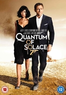 Quantum of Solace - British DVD movie cover (xs thumbnail)