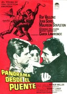 A View from the Bridge - Spanish Movie Poster (xs thumbnail)