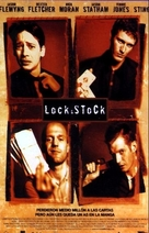 Lock Stock And Two Smoking Barrels - Spanish Movie Poster (xs thumbnail)