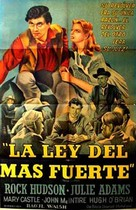 The Lawless Breed - Argentinian Movie Poster (xs thumbnail)
