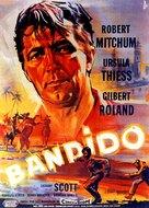 Bandido - German Movie Poster (xs thumbnail)