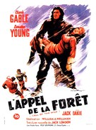 The Call of the Wild - French Movie Poster (xs thumbnail)